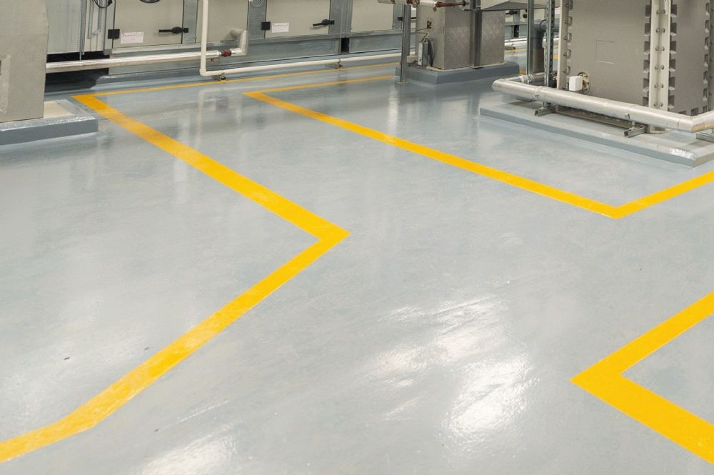 Line marking and floor signage - Top Team UK